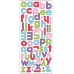 SEI - Doodley-Doo Girl - Alphabet Stickers