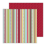 SEI - Doodley-Doo Holiday - Christmas - Double Sided Paper - Tree Trimmings, CLEARANCE