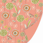 SEI - Dill Blossom Collection - 12x12 Double Sided Textured Paper - Hyssop