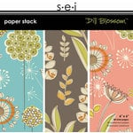 SEI - Dill Blossom Collection - Paper Stack - 6x6, CLEARANCE