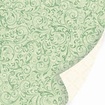 SEI - Christmas Mint Collection - 12 x 12 Double Sided Foil Paper - Marzipan , CLEARANCE