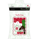 SEI - Christmas Mint Collection - Die Cut Shimmer Accents - Vanilla Icing, CLEARANCE