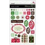 SEI - Christmas Mint Collection - Epoxy Stickers, CLEARANCE