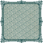 SEI - Moravia Collection - 12 x 12 Die Cut Paper - Lisen