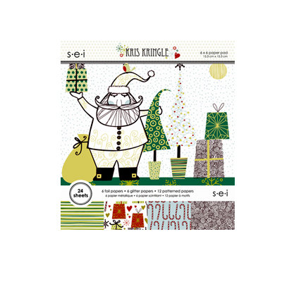 SEI - Kris Kringle Collection - Christmas - 6 x 6 Paper Pad, CLEARANCE
