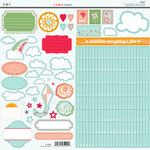 SEI - Corrine Collection - Glitter Cardstock Stickers