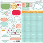 SEI - Corrine Collection - Glitter Cardstock Stickers