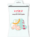 SEI - Corrine Collection - Die Cut Glitter Accents - Sunny with a Chance of Glitter