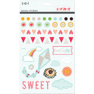 SEI - Corrine Collection - Epoxy Stickers