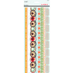 SEI - Corrine Collection - Paper Borders with Glitter Accents