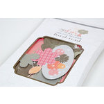 SEI - Claire Collection - Die Cut Double Sided Foil Accents - French Roast, CLEARANCE
