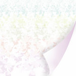 SEI - Couture Collection - 12 x 12 Double Sided Pearl Foil Paper - Chiffon