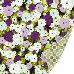 SEI - Couture Collection - 12 x 12 Double Sided Mint Foil Paper - Chintz