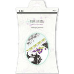 SEI - Couture Collection - Die Cut Accents - Vintage Pewter