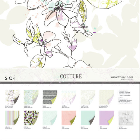 SEI - Couture Collection - 12 x 12 Assortment Pack