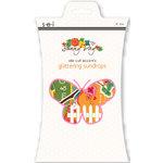 SEI - Sunny Day Collection - Die Cut Glitter Accents - Glittering Sundrops