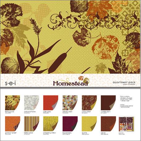 SEI - Homestead Collection - 12 x 12 Assortment Pack