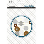 SEI - Silver Valley Collection - Christmas - Embellishment Pack - Sundries