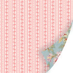 SEI - Promise Me Collection - 12 x 12 Double Sided Pink Foil Paper - True Love