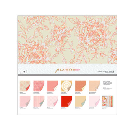 SEI - Promise Me Collection - 12 x 12 Assortment Pack
