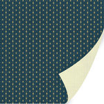 SEI - Field Notes Collection - 12 x 12 Double Sided Gold Foil Paper - Document