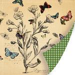 SEI - Field Notes Collection - 12 x 12 Double Sided Black Foil Paper - Specimen