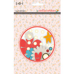 SEI - Vanilla Sunshine Collection - Embellishment Pack - Sundries