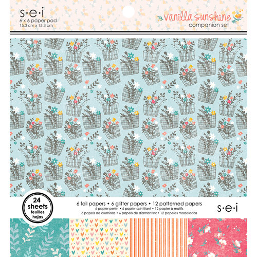 SEI - Vanilla Sunshine Collection - 6 x 6 Paper Pad