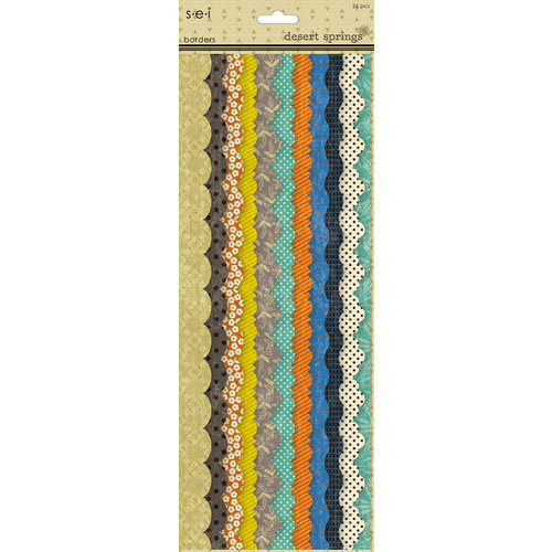 SEI - Desert Springs Collection - Paper Borders