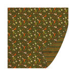 SEI - Entrada Collection - 12 x 12 Double Sided Paper with Foil Accents - Omagua Forest