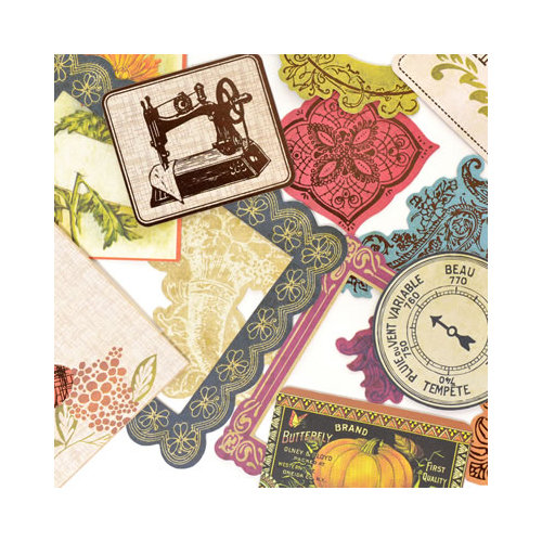 SEI - Mirelle Collection - Die Cut Accents with Foil Accents