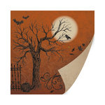 SEI - Salem Heights Collection - Halloween - 12 x 12 Double Sided Paper with Foil Accents - Hawthorne Hills