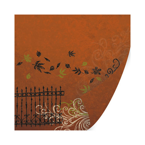 SEI - Salem Heights Collection - Halloween - 12 x 12 Double Sided Paper with Foil Accents - Hawthorne Lane
