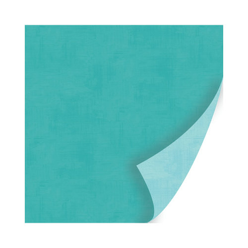 SEI - Berry Melody Collection - Christmas - 12 x 12 Double Sided Paper - Blue Harmony