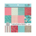 SEI - Berry Melody Collection - Christmas - 6 x 6 Paper Pad