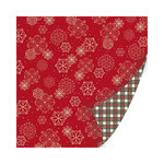 SEI - Holiday Traditions Collection - Christmas - 12 x 12 Double Sided Paper with Foil Accents - Dreams of Wonder