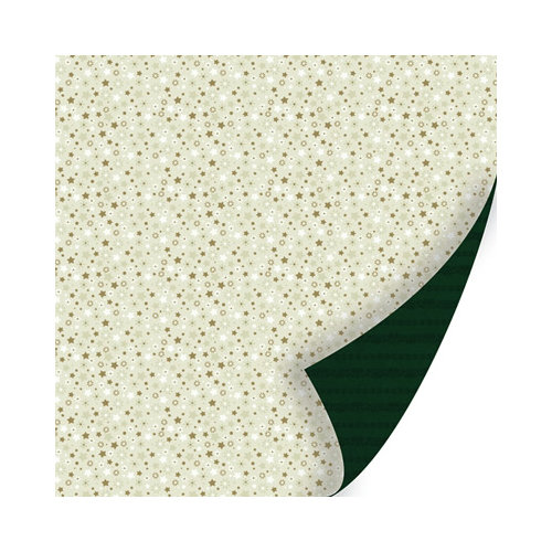 SEI - Holiday Traditions Collection - Christmas - 12 x 12 Double Sided Paper with Glitter Accents - Magic Glow