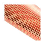 SEI - Holiday Traditions Collection - Christmas - 12 x 12 Double Sided Craft Paper with Foil Accents - Red Houndstooth