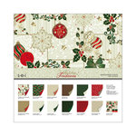 SEI - Holiday Traditions Collection - Christmas - 12 x 12 Assortment Pack
