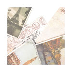 SEI - Mia Bella Collection - 12 x 12 Double Sided Perforated Sheet - Postcard