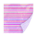 SEI - Diane Collection - 12 x 12 Double Sided Paper with Glitter Accents - Plum Tart