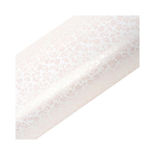 SEI - Diane Collection - 12 x 12 Paper with Pearl Accents - Shimmering Pink Floral