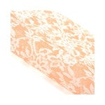 SEI - Diane Collection - 12 x 12 Woven Sheet - Peach Floral