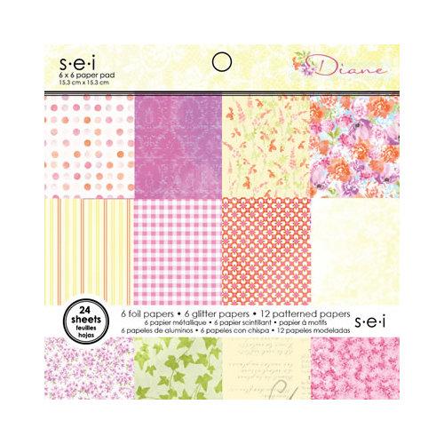 SEI - Diane Collection - 6 x 6 Paper Pad