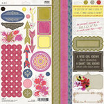 SEI - Azalea Collection - Cardstock Stickers with Foil Accents