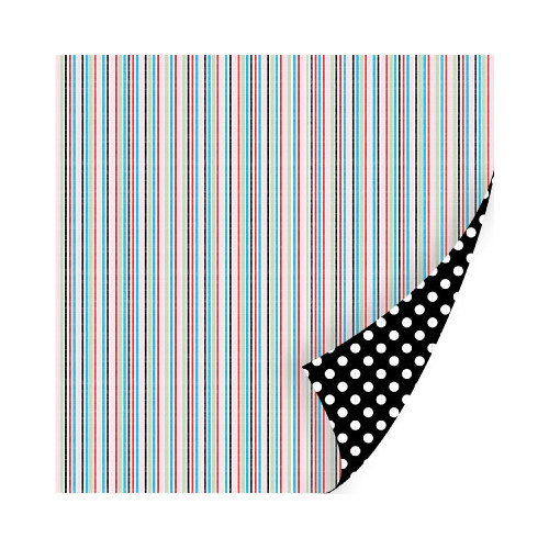 SEI - Think of Me Collection - 12 x 12 Double Sided Paper with Foil Accents - Admiration