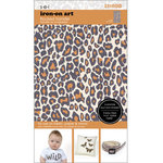 SEI - Iron-On Art - Flocked Transfer Sheet - Leopard