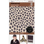SEI - Iron-On Art - Flocked Transfer Sheet - Cheetah