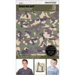 SEI - Iron-On Art - Flocked Transfer Sheet - Camo