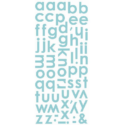 SEI - Dill Blossom Collection - Alphabet Stickers, CLEARANCE